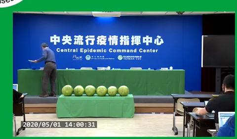 2020.05.01:  Watermelons - Journal of Wuhan Pneumonia in Taiwan 武漢肺炎在臺灣日記